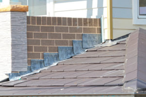 Flash metal used for waterproofing by from gold standard restorations best roofers in elgin for roof waterproofing - elgin, schaumburg, crystal lake, barrington, evanston, chicago, illinois