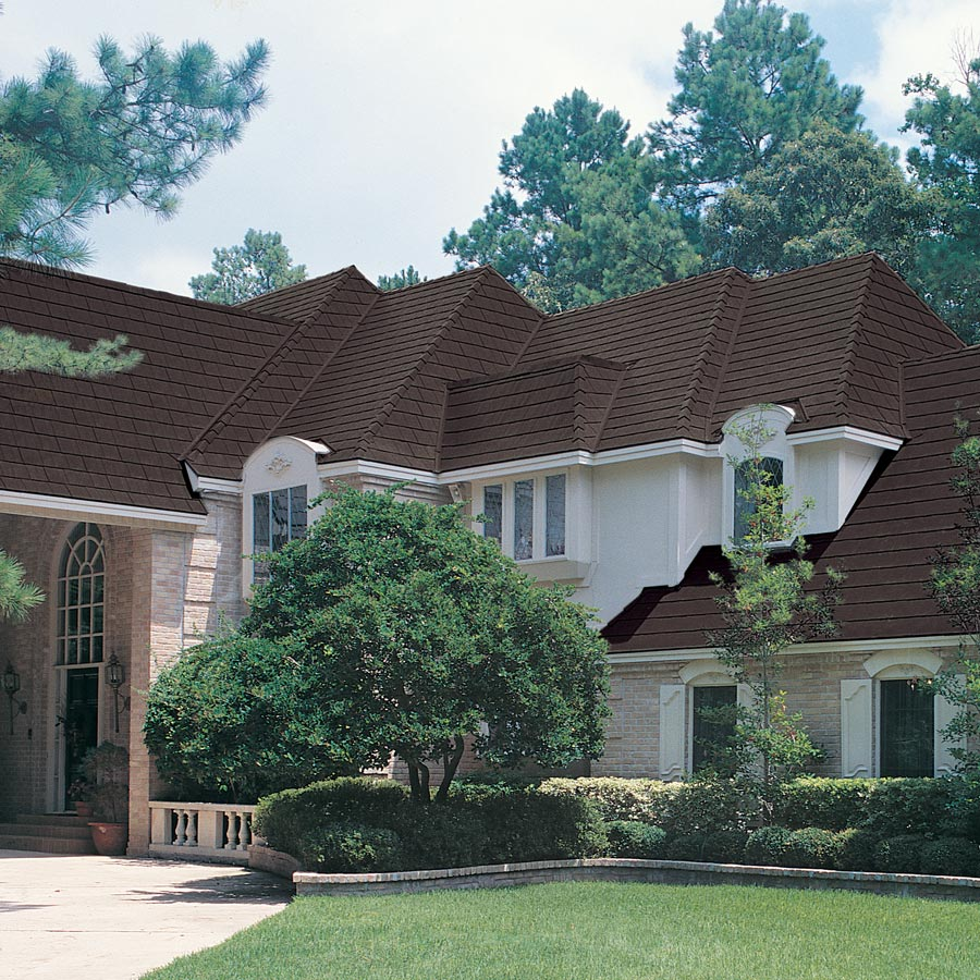 Home roof built with brown tamko roofing tiles from gold standard restorations the best roofers in lake zurich using tamko roofing products