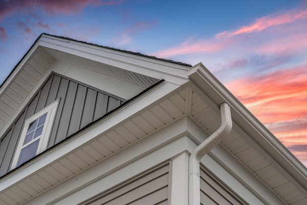 K style gutters by gold standard restorations the best roofers in naperville illinois