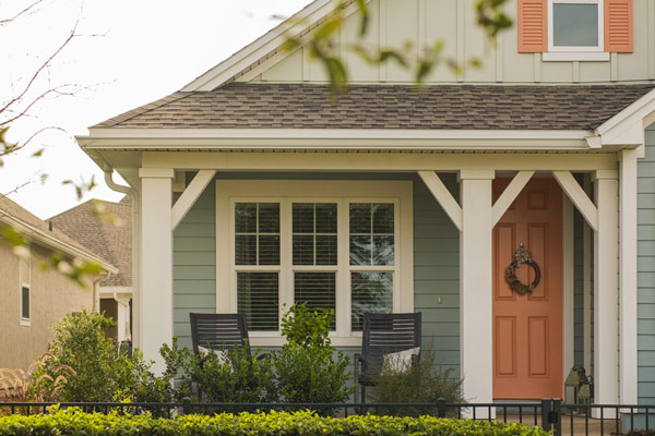 Green james hardie siding from gold standard restorations the best contractors in st charles